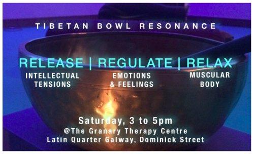 Tibetan Bowl Resonance - Summer 2019 @GranaryCentre, Galway