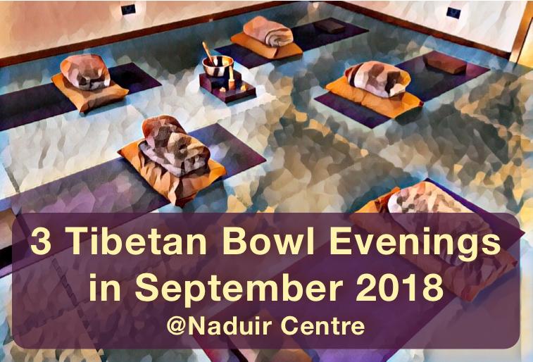 Tibetan Bowl Experience September 2018